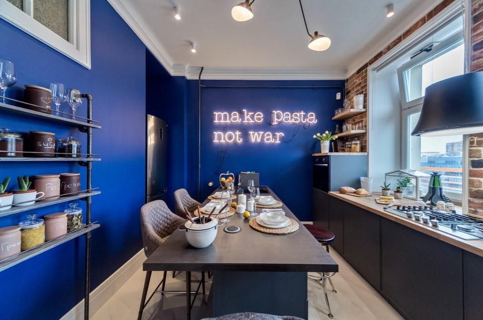 Каким цветом покрасить стены на кухне: 50 лучших фотопримеров для квартиры и дома