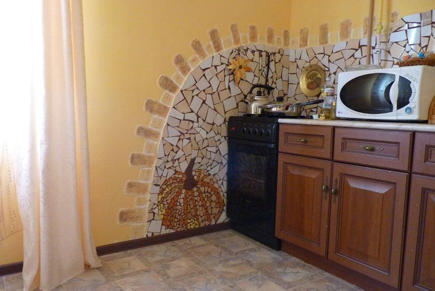 Оформление кухни в квартире своими руками