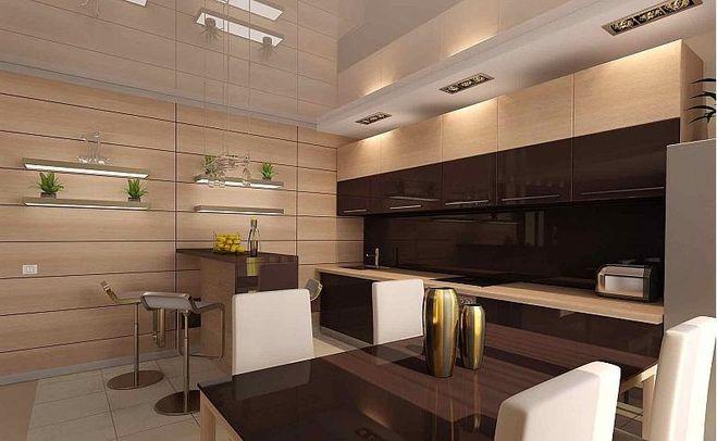 В качестве отделки все чаще пользуются панелями из МДФ, что позволяет придать комнате красивый вид