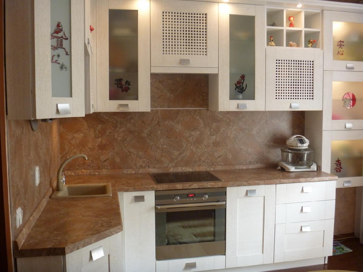 Панель на стену в кухне