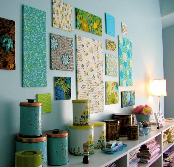 Картины для интерьера своими руками для кухни