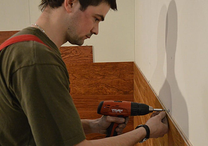 Монтаж стеновых панелей для кухни своими руками