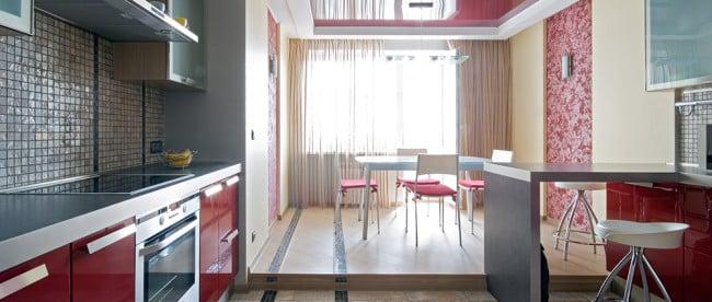 Установка подиума на кухне это достаточно нестандартное решение которое больше подходит для творческих неординарных личностей