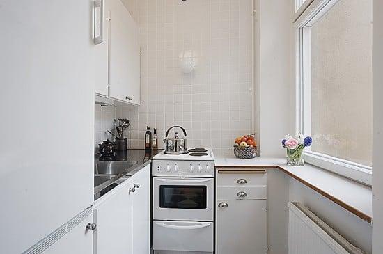 Особенности подбора обоев для небольшой кухни
