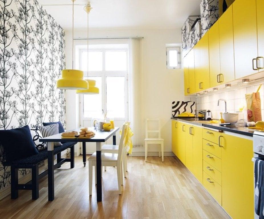 Дизайн обои кухня