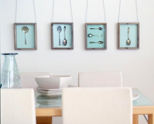 Декор на стену на кухню своими руками