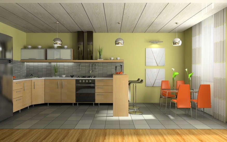 Фото дизайна кухни с островом