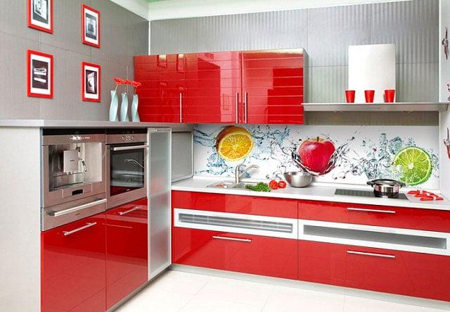 фартук для кухни из пластика фото каталог