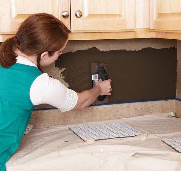 Как выложить фартук на кухне из плитки своими руками