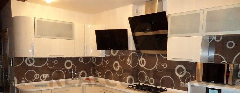 Один из вариантов оформления рабочей зоны на кухне