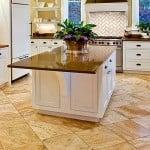Ламинат для кухни водостойкий под плитку: фото