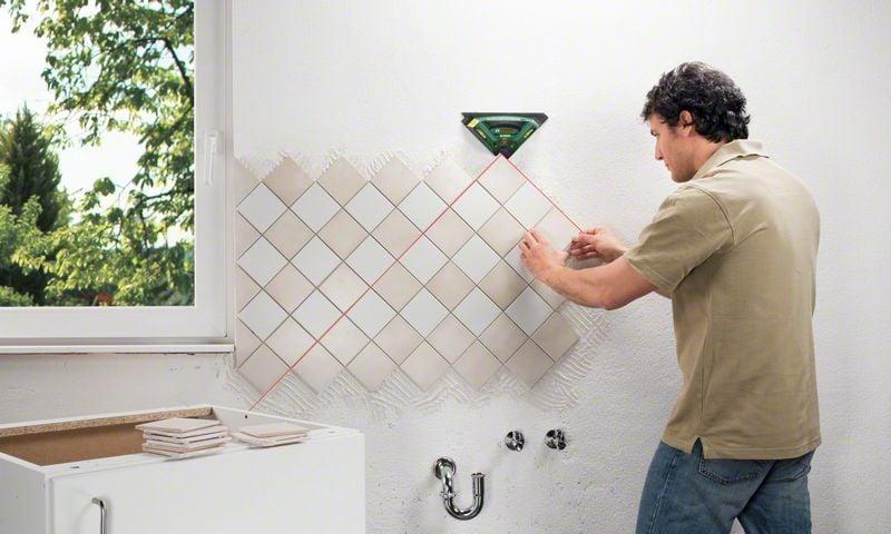 Для расчета необходимого количества плитки важно определиться со способом укладки материала