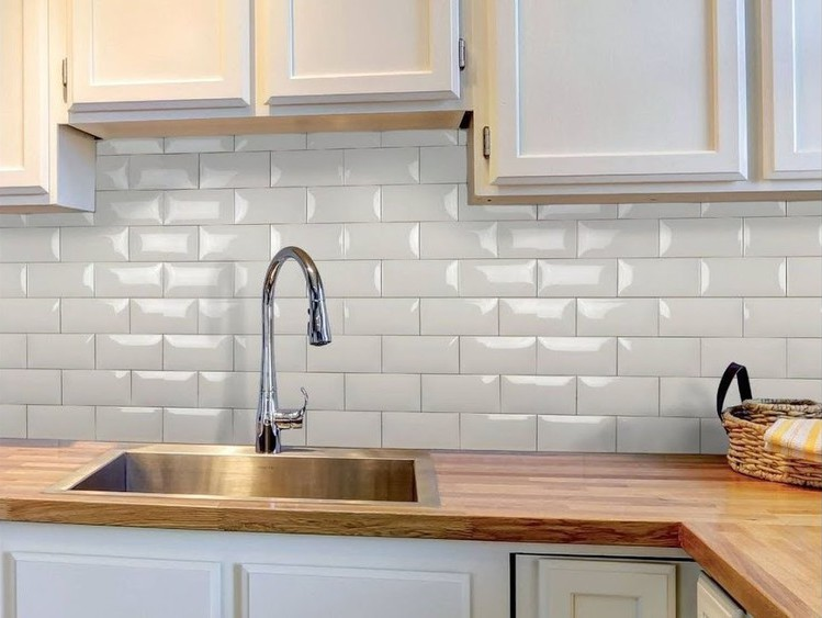 Установка стеновой панели на кухне своими руками - как крепить к стене