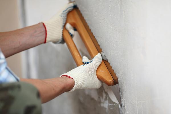 Красить можно только подготовленные стены