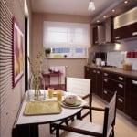 Современный дизайн обоев на кухне: фото и советы дизайнеров
