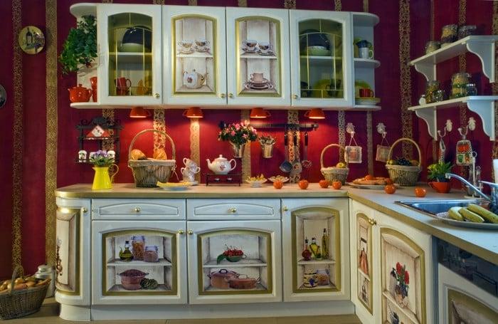 Декупаж кухонная мебель своими руками