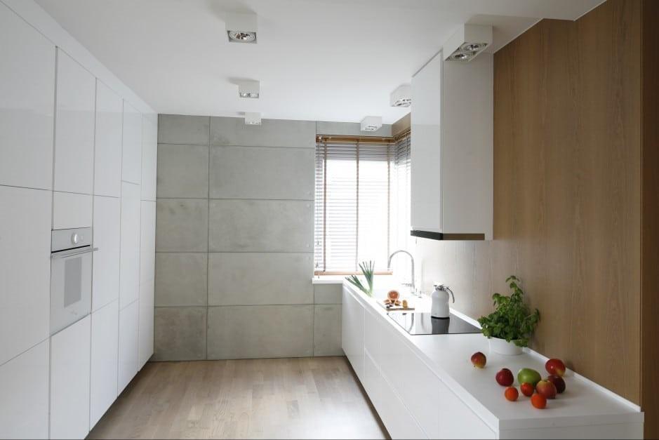 Последнее время пользуется популярностью кухня 13 кв. метров без верхнего ряда
