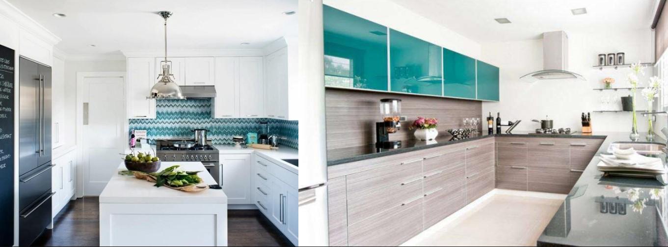 Строгий интерьер кухонь скандинавского стиля