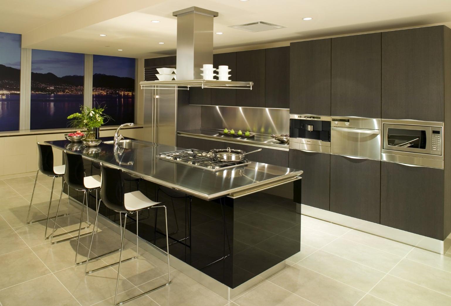 Современный дизайн кухонь