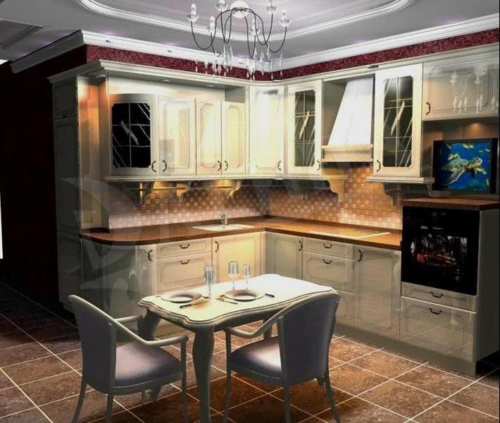 Фото дизайна кухни 16 метров