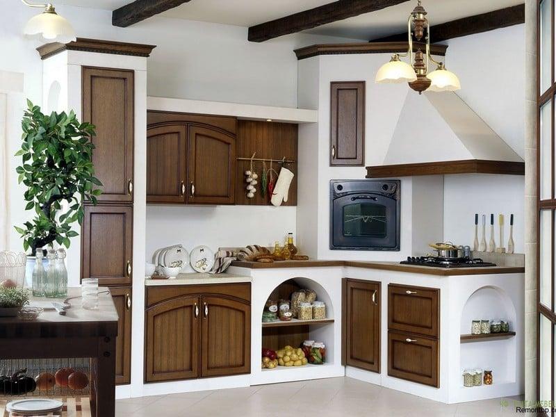 """Оформление кухни в стиле """"кантри"""""""