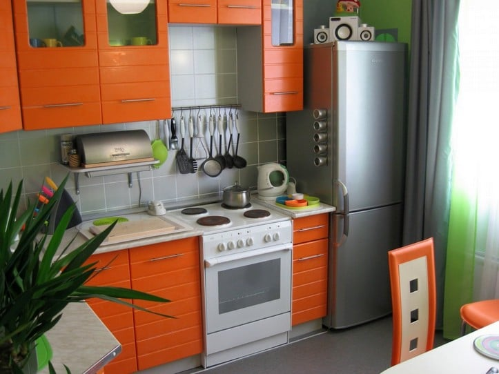 Гармоничное расположение мебели это залог удобства и вместительности кухни