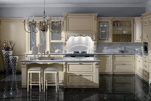 Элитная итальянская кухня не только украсит интерьер вашего дома но и освежит обстановку и подчеркнет ваше благосостояние