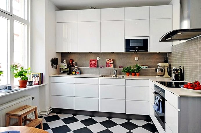 Как грамотно оформить пространство кухни
