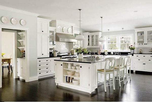 Какой стиль подойдет для большой кухни