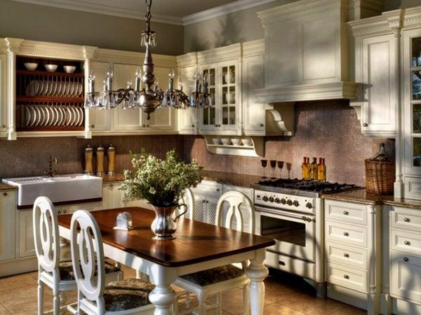Особенности оформления кухни в английском стиле