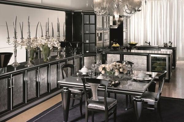 Особенности оформления кухонь в стиле арт-деко
