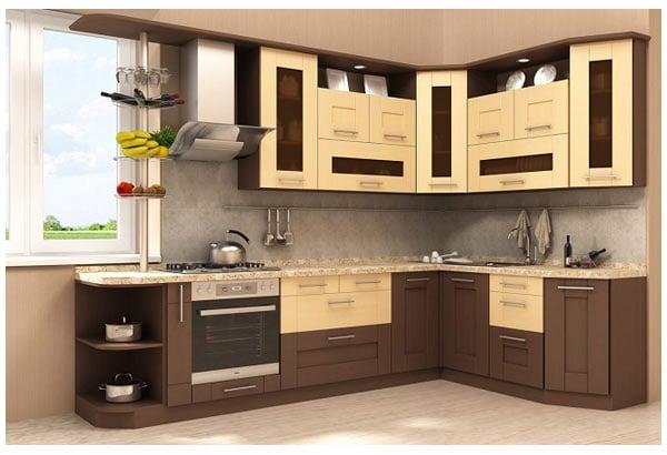 Особенности сочетания коричневого цвета в интерьере кухни