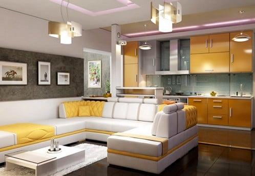 Правила расположения кухонной мебели