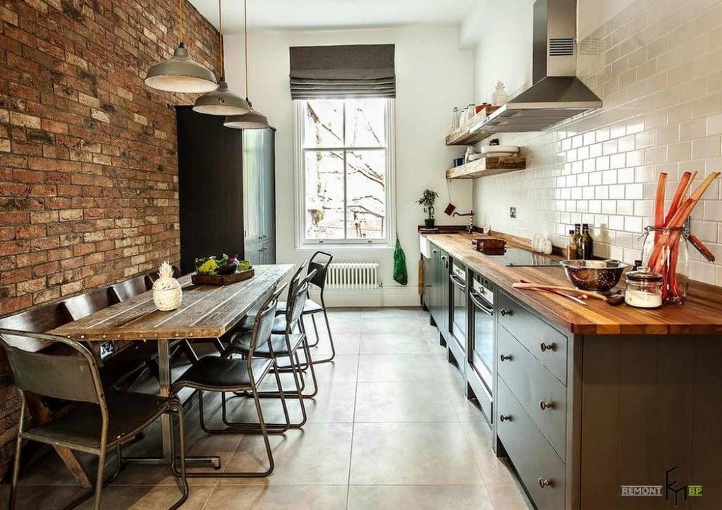 Преимущества кухонь в стиле лофт