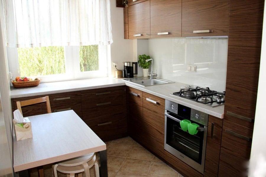 Решения по оформлению маленькой кухни
