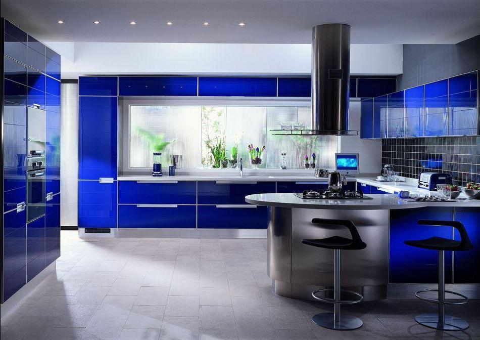 Современные подходы в оформлении большой кухни