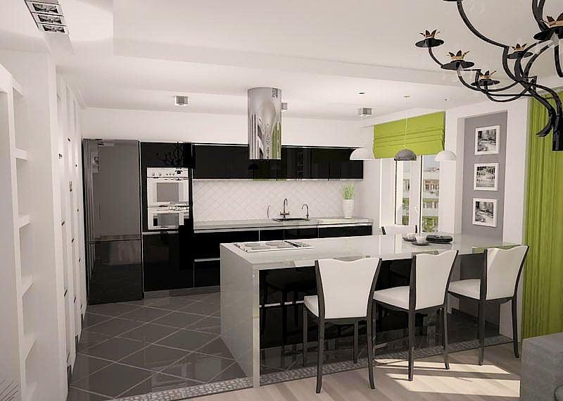 Стилистические направления и цвета в оформлении кухни