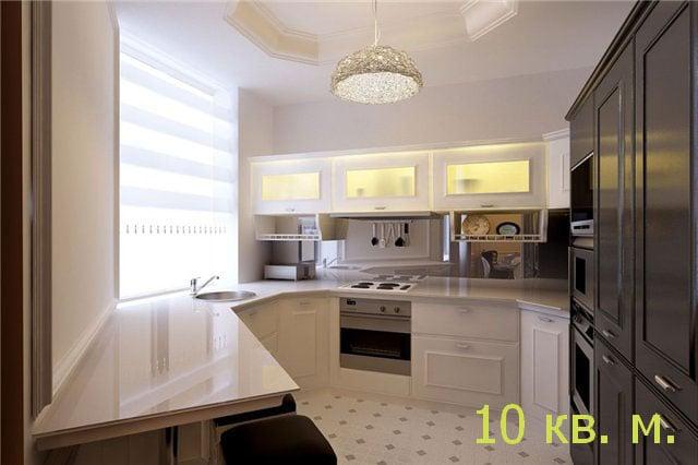 Варианты оформления кухонного пространства