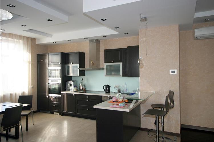 Варианты планировки в процессе создания интерьра кухни