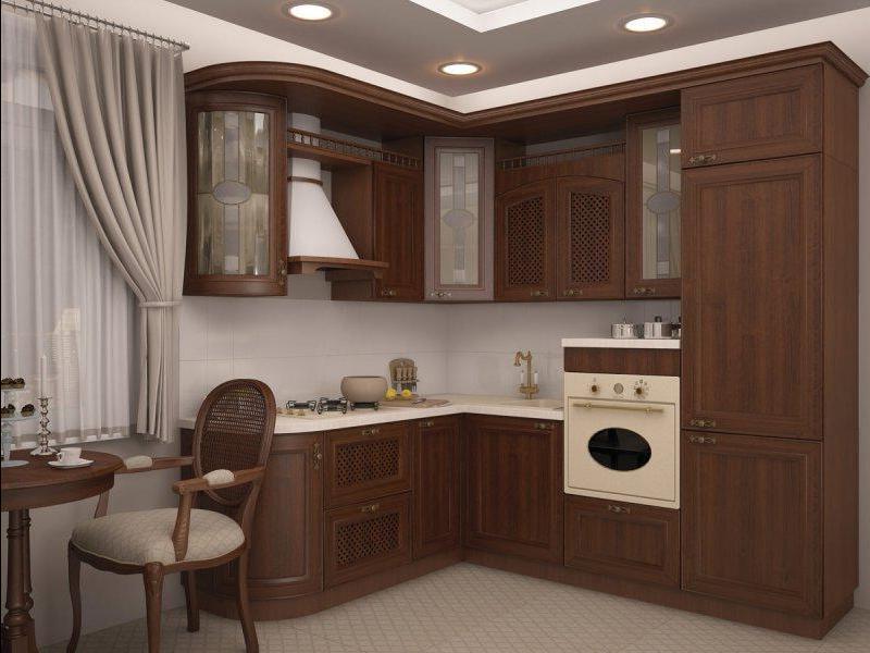 Интерьер кухни 3 на 3 м