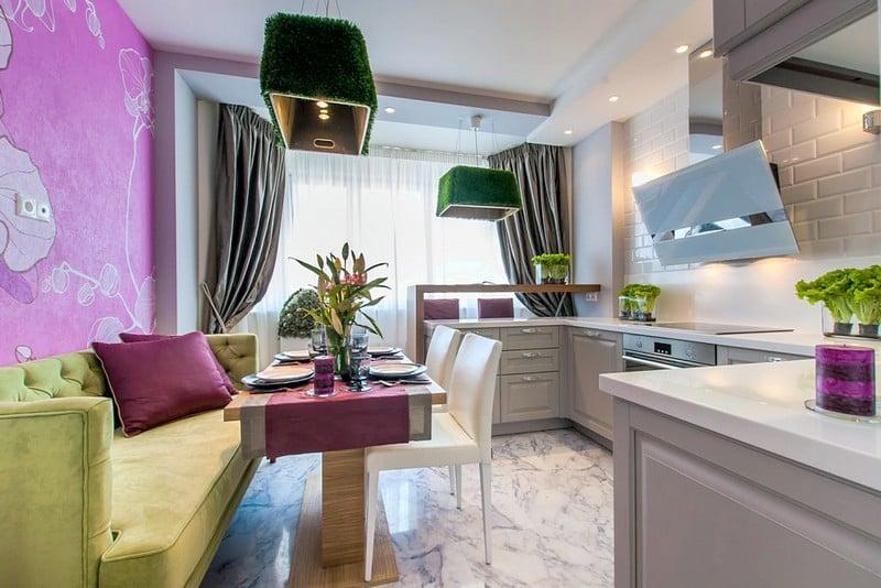 Дизайны кухни 13 кв.м фото