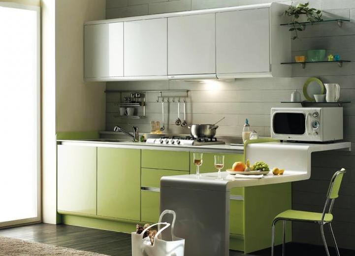 Прямые кухни фото дизайн 3 метра