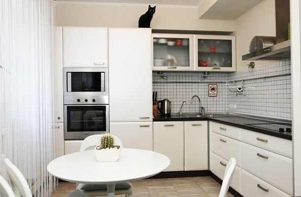 Кухня 3 5 метра дизайн фото
