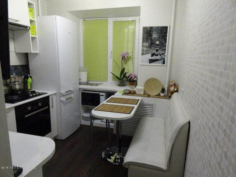 Ремонт для маленькой кухни дизайн 6 кв м