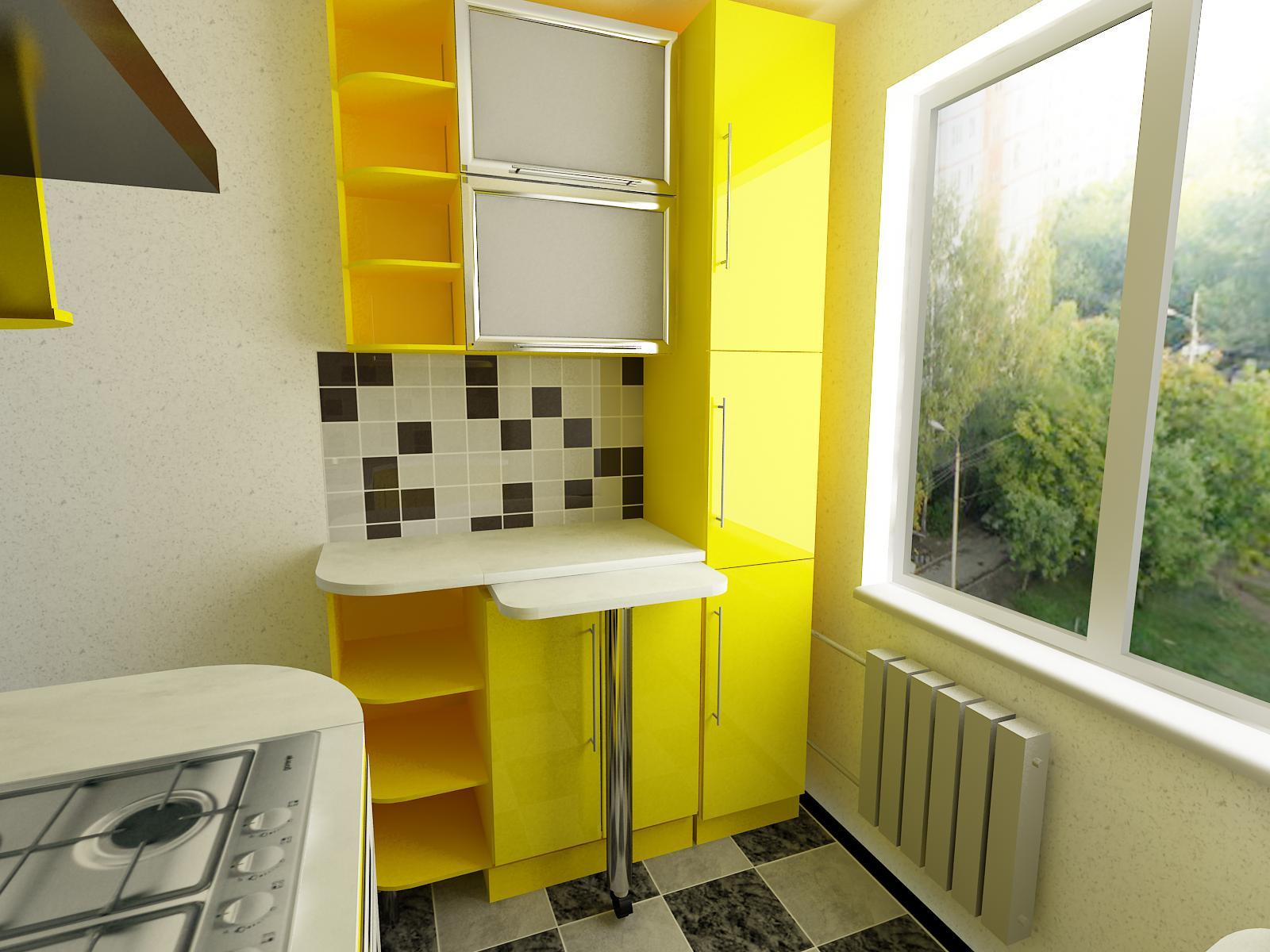 Кухня 5 кв.м. дизайн фото