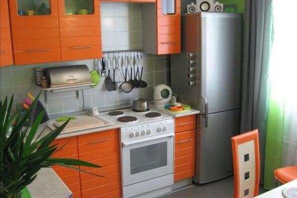Маленькое пространство это не повод отказываться от стильной и красивой кухни