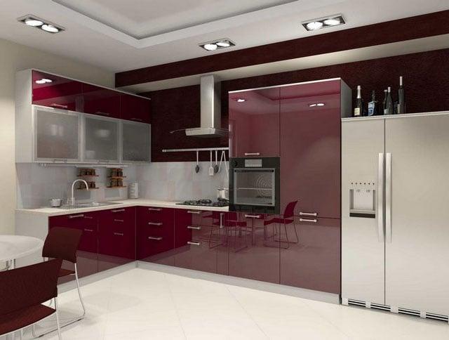 Производители предлагают большое количество современных кухонных гарнитуров и мебели