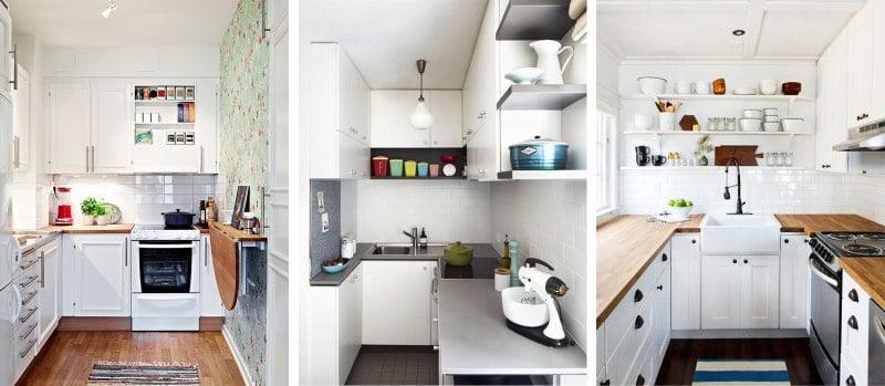 Секреты оформления небольшого пространства кухни