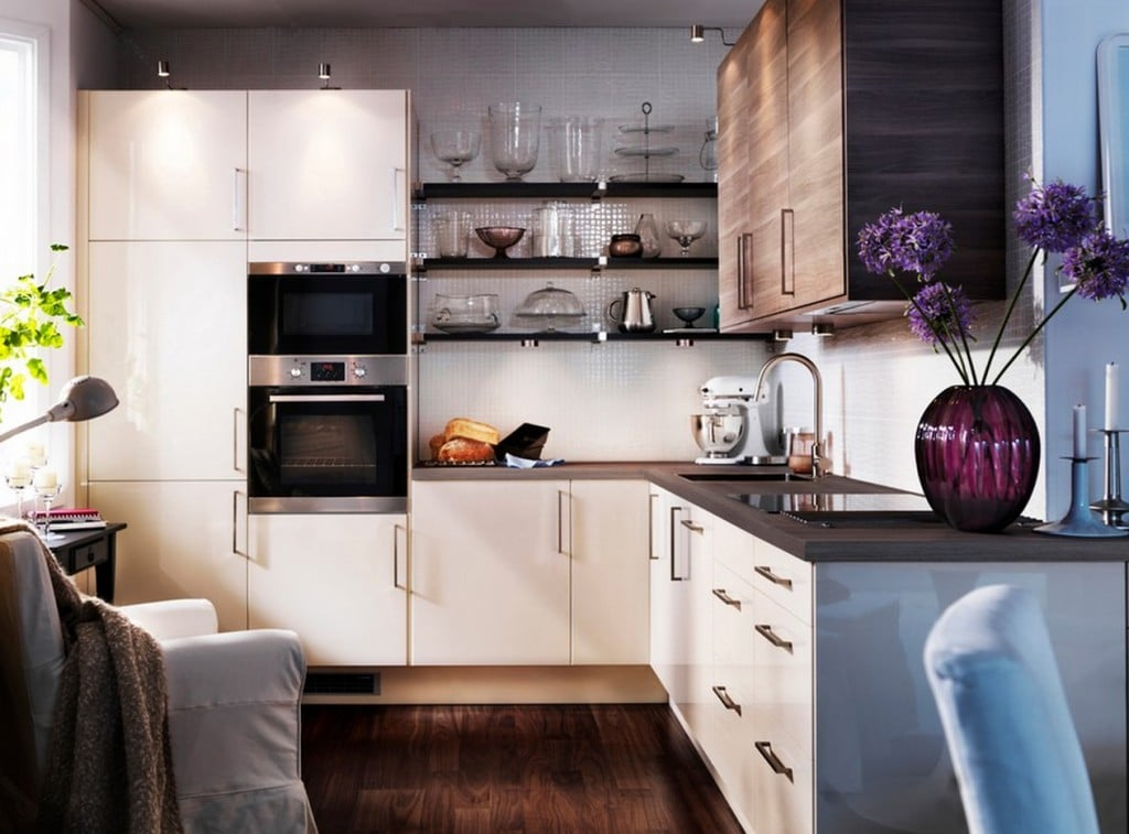 Секреты по оформлению маленького пространства кухни