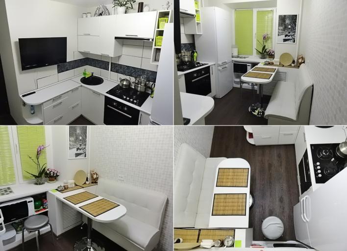 кухни для маленькой фото дизайн